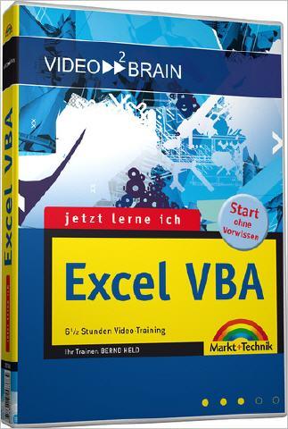 "Excel-VBA ""Jetzt lerne ich"" - VBA-Publikationen"