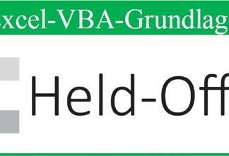 VBA Grundlagen