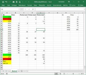 Daten importieren mit VBA