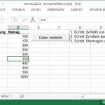 Daten auf andere Tabellen verteilen