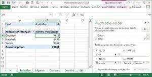 Berichtsfilterseiten per VBA erstellen